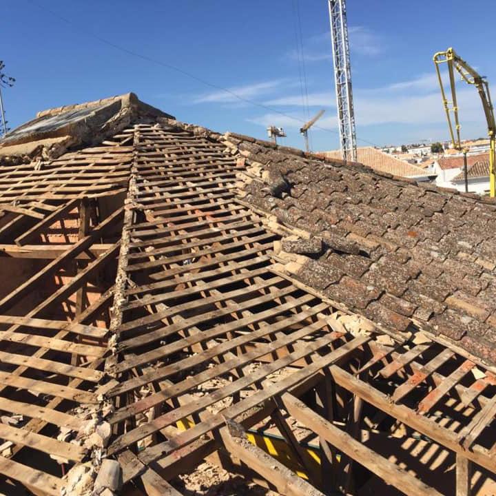 Reparação de telhados no Algarve